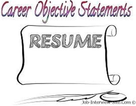 Career objectives law resume