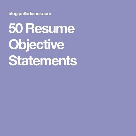What are the best career objectives in a resume for a fresher?